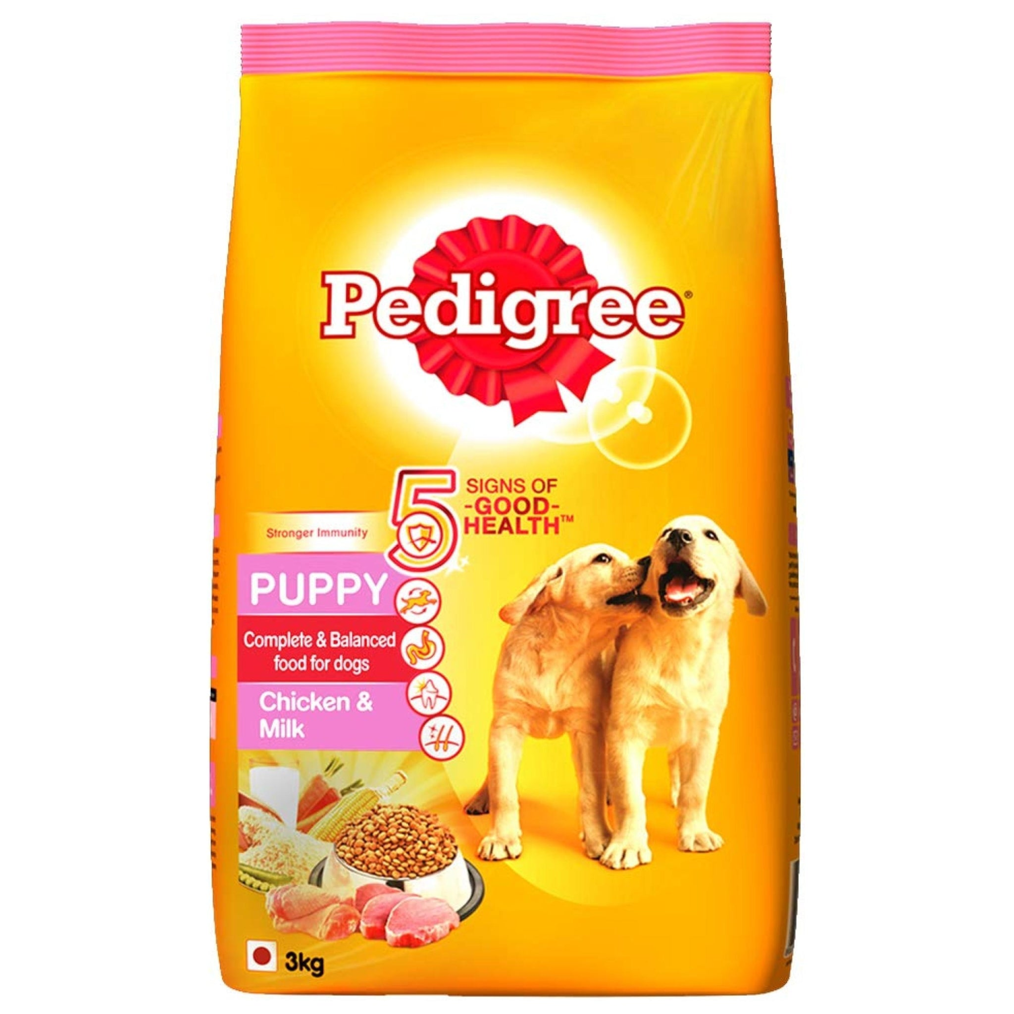 Pedigree Chicken And Milk Puppy Dog Food - Poochles