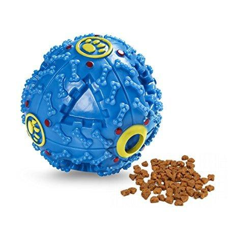 Pet Sound Plastic Ball Toy - Poochles