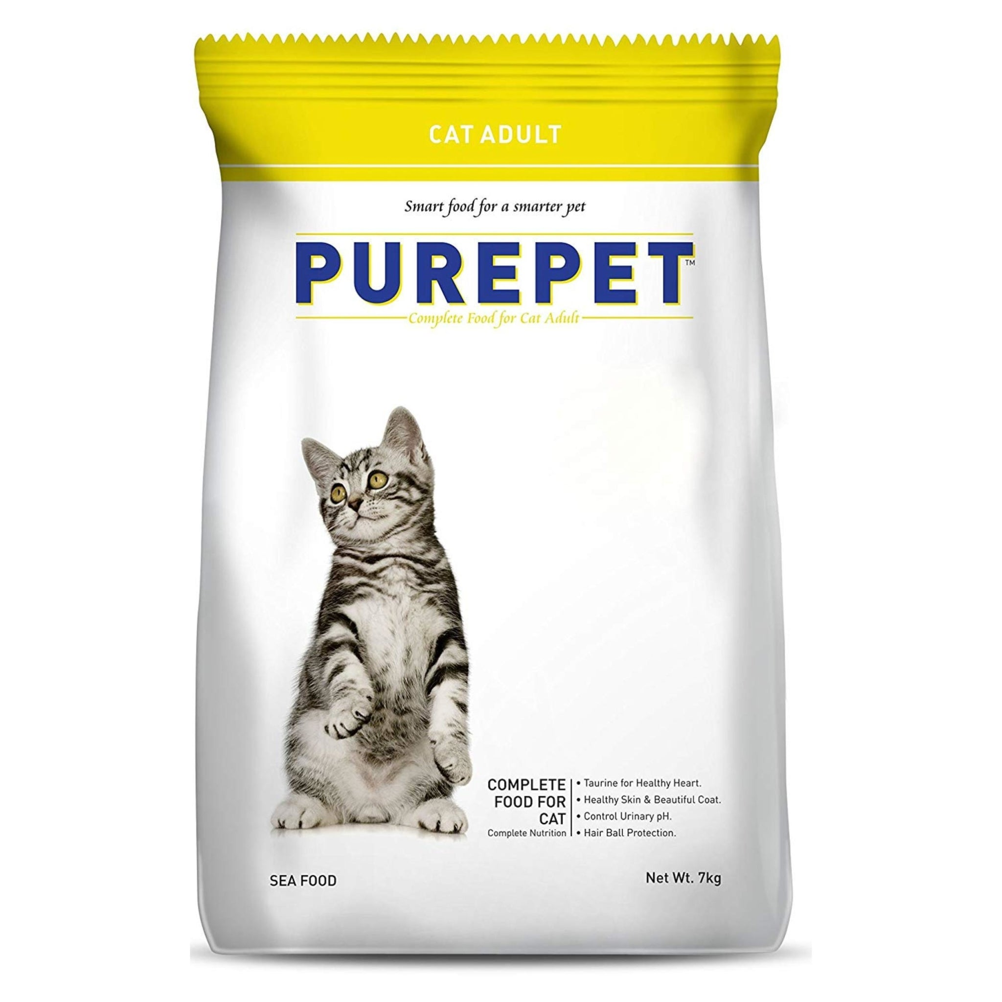 Purepet Cat Sea Food 7Kg - Poochles
