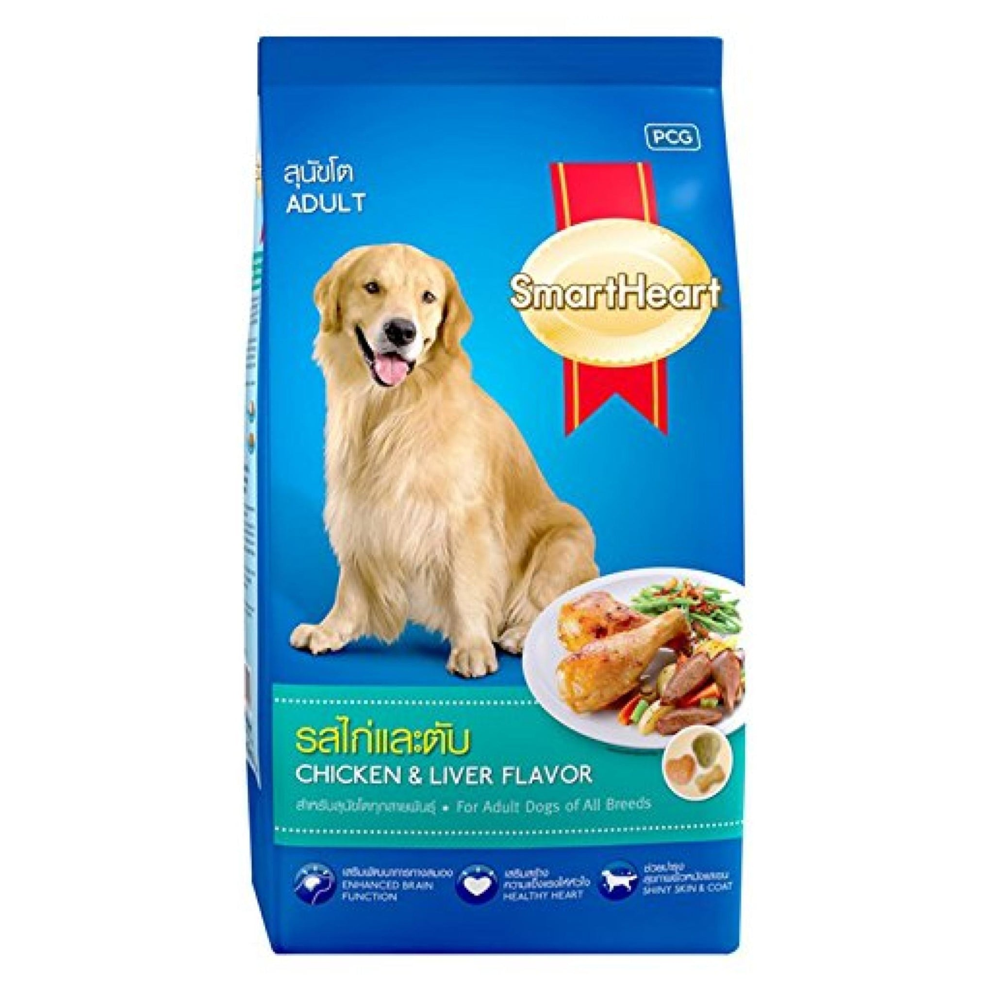 Smart Heart Chicken and Liver Adult Dog Food - Poochles