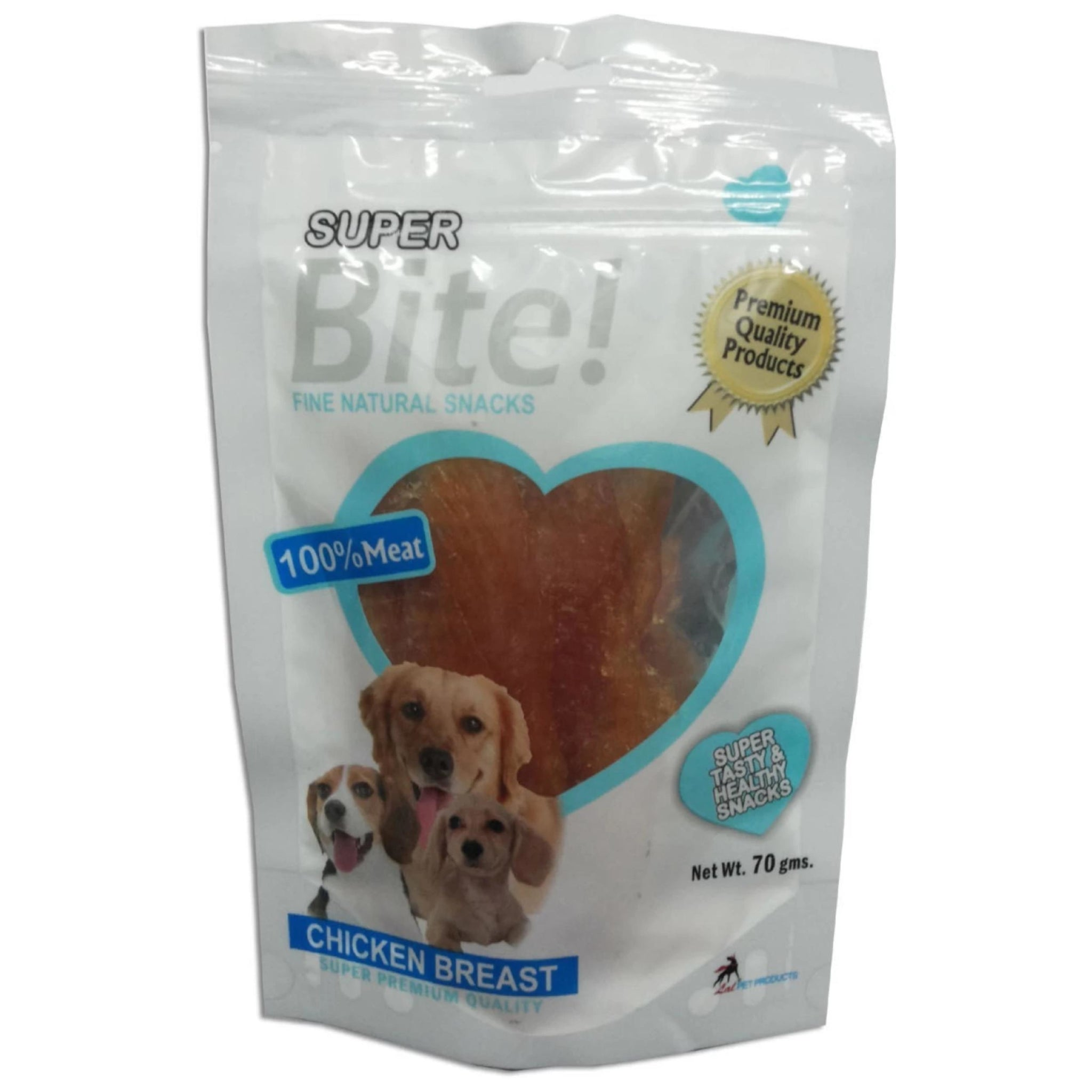 Superbite Chicken Breast Jerky Treat 70gms - Poochles