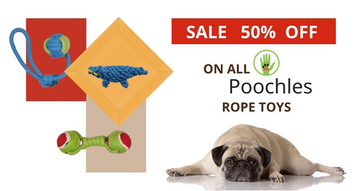 Poochles Rope Toys @50%off