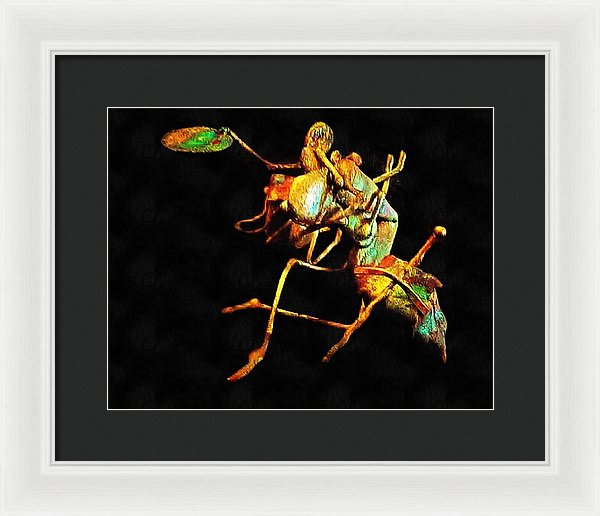 Collateral Damage - Framed Print
