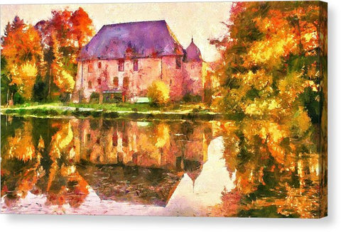 Country Mansion - Canvas Print