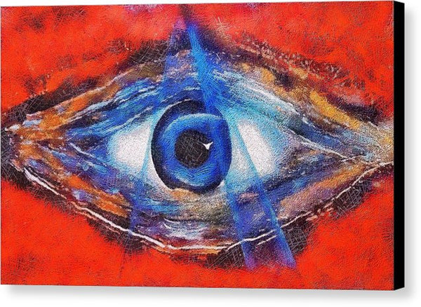 Eye Of The Universe - Canvas Print