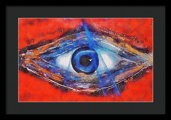 Eye Of The Universe - Framed Print