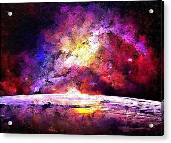 Far Away Galaxy - Acrylic Print