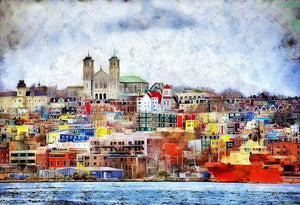 Saint John's Harbour - Art Print