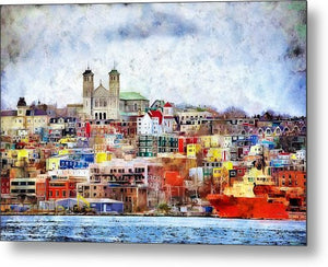 Saint John's Harbour - Metal Print