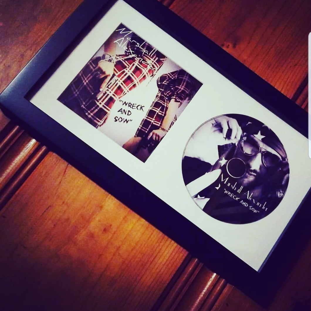 SIGNED Album Plaque