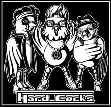 "Load image into Gallery viewer, ""Hard Cocks"" Black T-Shirt"