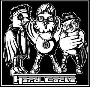 """Hard Cocks"" Black T-Shirt"