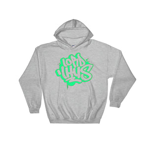 Lord Lhus Neon Green Tag Hoodie