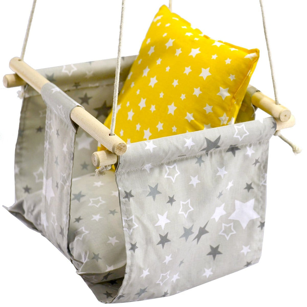 Eco Handmade Baby Stars Swing Chair - JUST Hammocks
