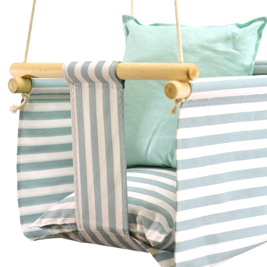 Eco Handmade Baby Linen Swing Chair - JUST Hammocks