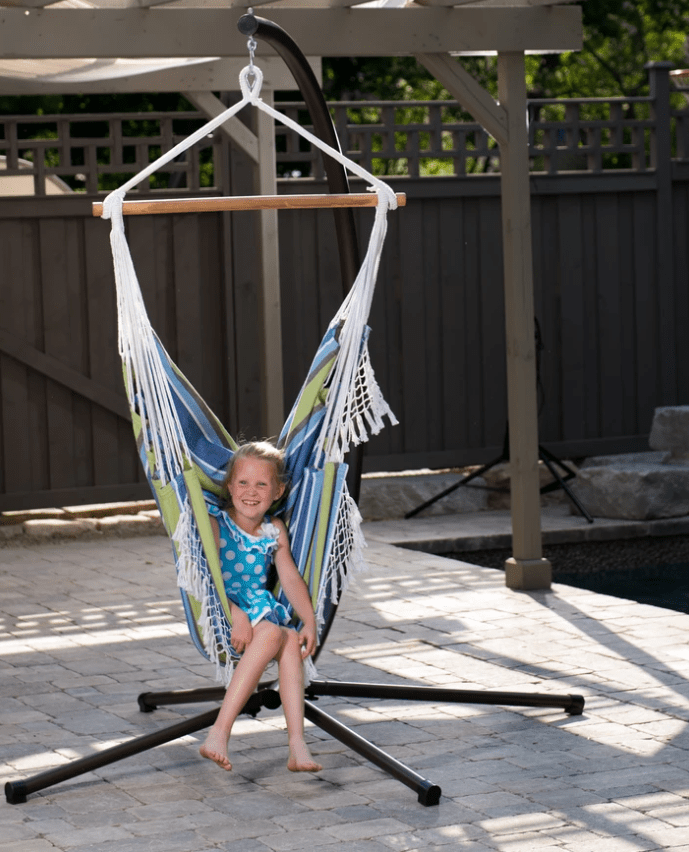 Brazilian Hammock Swing Chair (Oasis) - JUST Hammocks