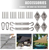 Pad Eye Plates 12Pcs Stainless Steel Ceiling Hooks - JUST Hammocks
