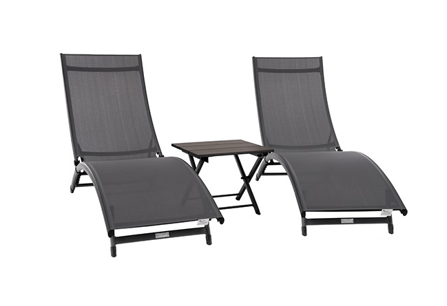Coral Springs 3-pc Lounger Set - JUST Hammocks