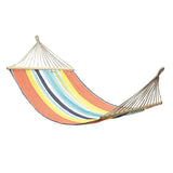Hammock Double With Timber Rails Peach