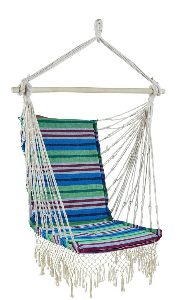 Brazilian Sofa Chair (Green) - JUST Hammocks