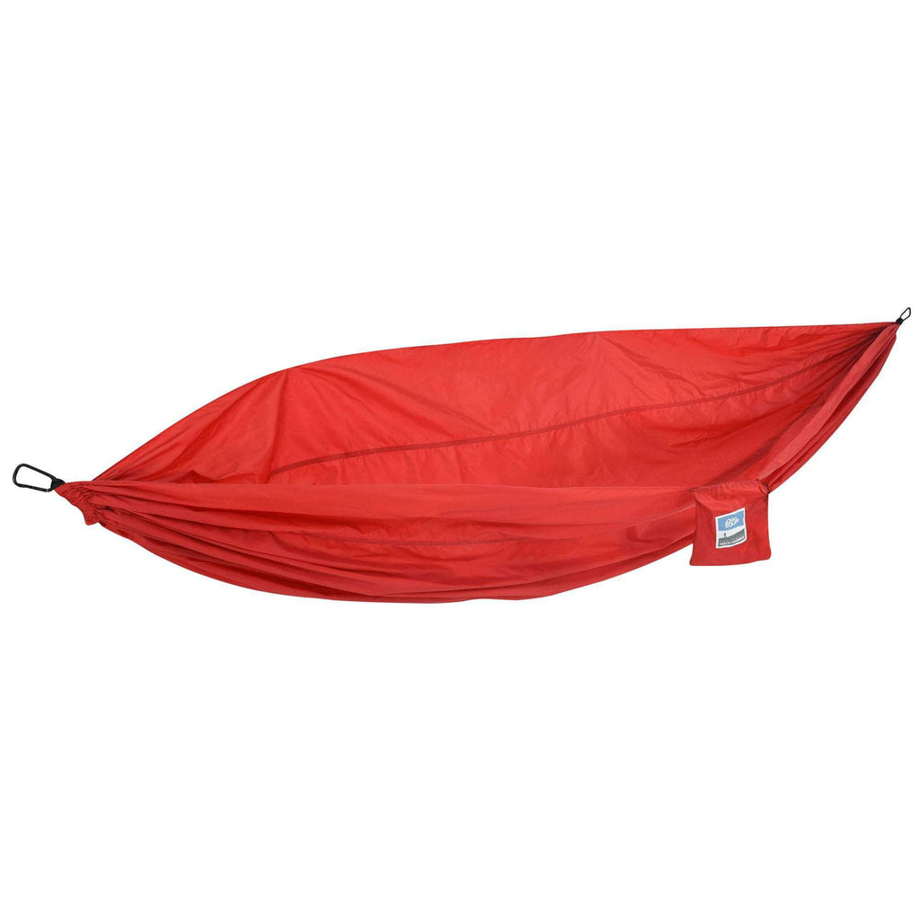 Fiery Red Nylon Travel Hammock - JUST Hammocks
