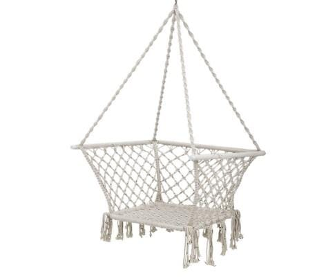 Patio Cotton Hammock Swing Cream - JUST Hammocks