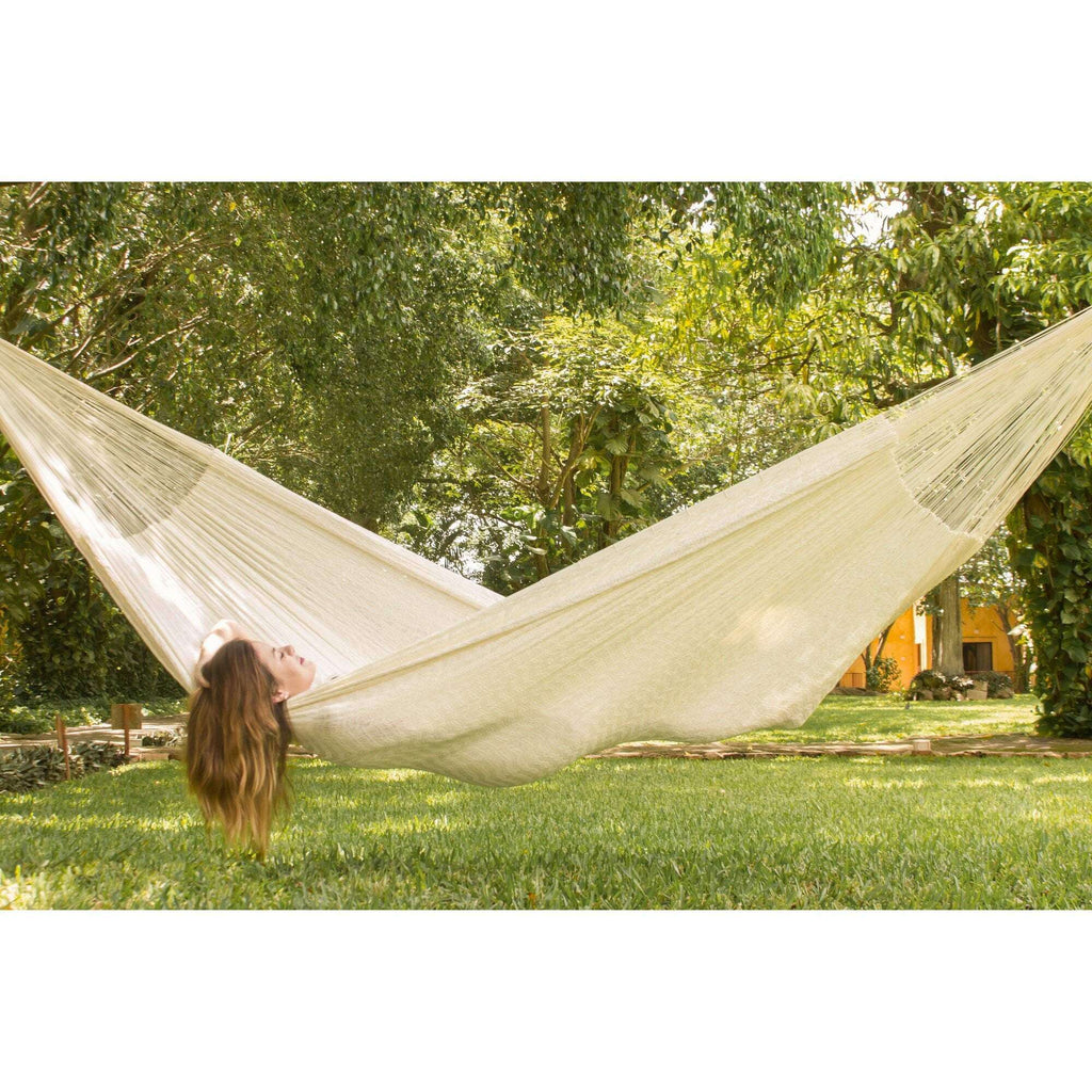 Cotton Hammock in Cream - JUST Hammocks