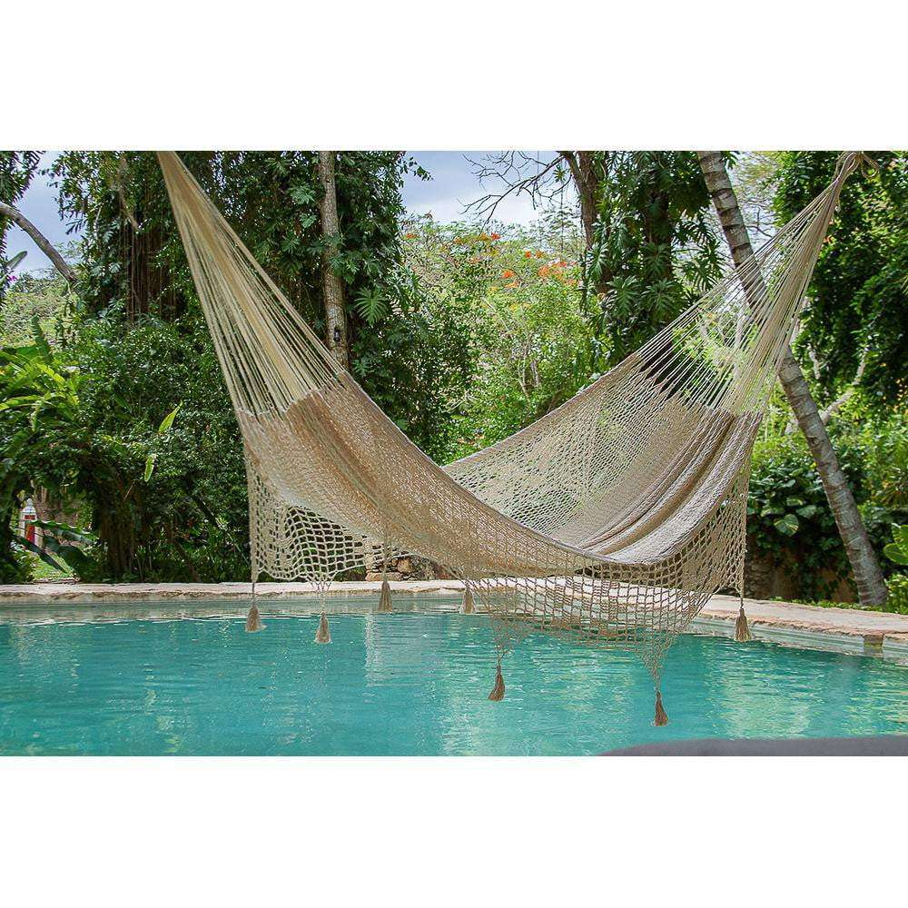 Cotton Hammock with Fringe - JUST Hammocks