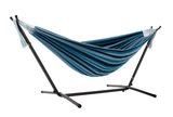 Hammock Combo - Double Blue Lagoon Hammock with Stand (250cm) - JUST Hammocks