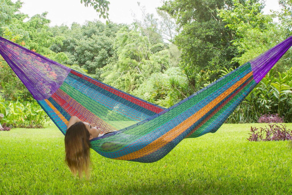 Jumbo Size Cotton Hammock in Colorina - JUST Hammocks