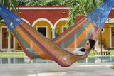 Queen Size Cotton Hammock in Mexicana - JUST Hammocks