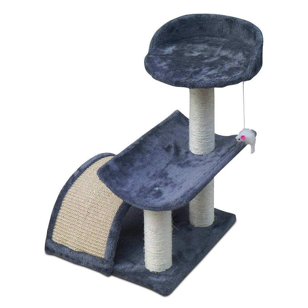 60cm Cat Scratching Post - Grey - JUST Hammocks