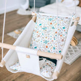 SPRING Baby Linen Swing Chair and Hanging Cradle