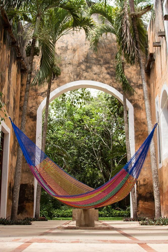 Jumbo Cotton Hammock in Mexicana - JUST Hammocks