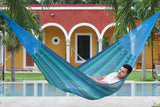 Jumbo Size Cotton Hammock in Caribe - JUST Hammocks