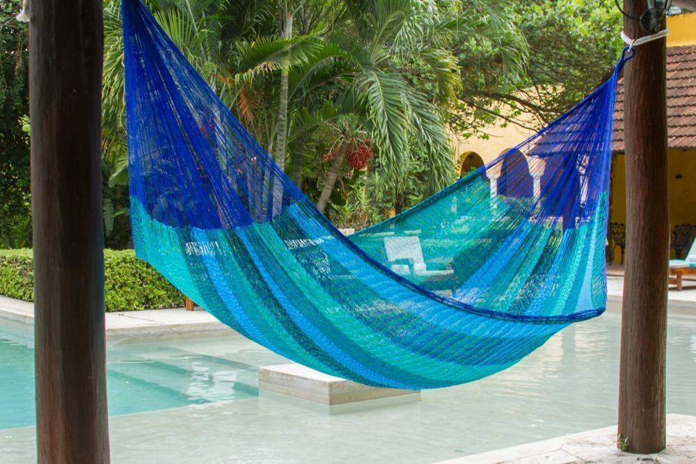 Jumbo Size Nylon Plus Hammock in Caribe - JUST Hammocks
