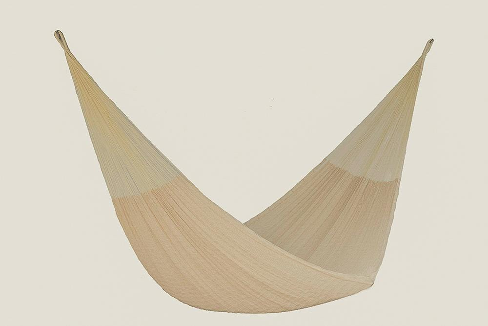 King Size Cotton Hammock in Cream - JUST Hammocks