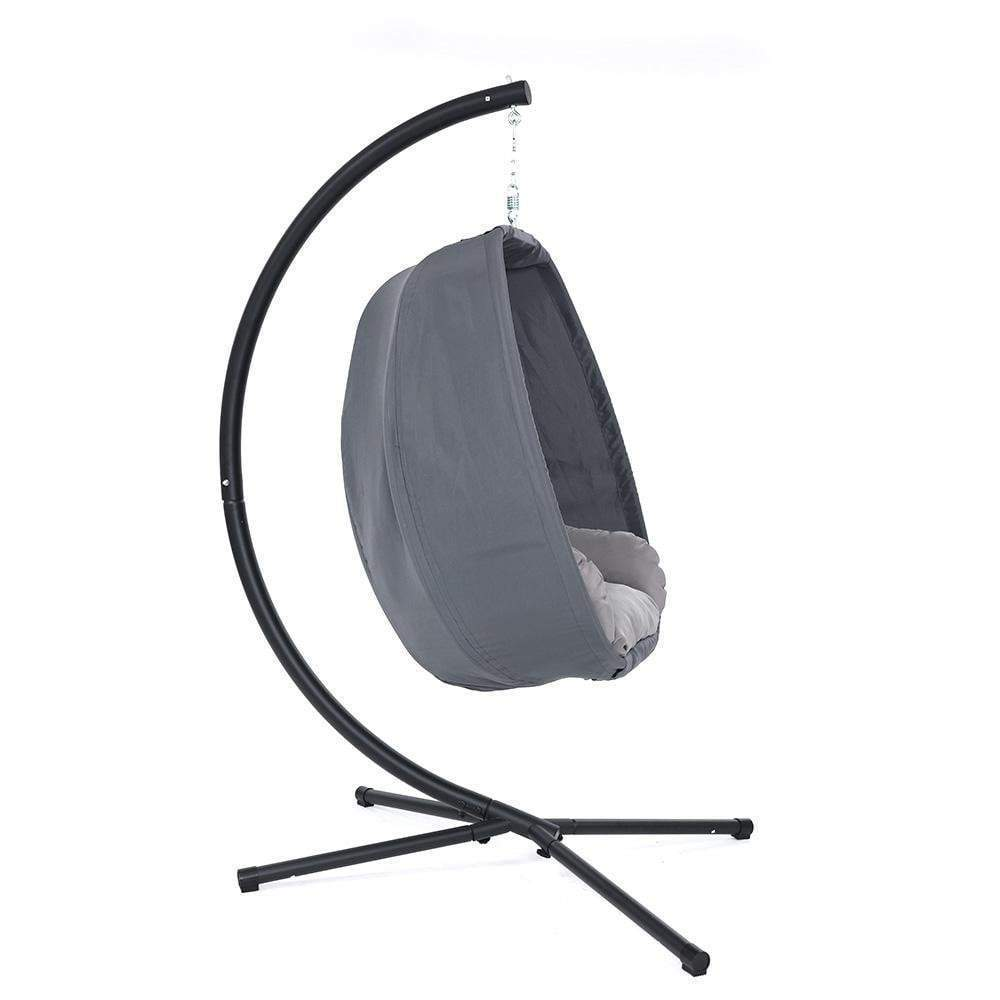 Gardeon Outdoor Furniture Egg Hammock Hanging Swing Chair Pod Lounge Chairs - JUST Hammocks