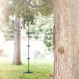Tree Climbing Rope and Kids Outdoor Swing with Foot Hold Platforms - JUST Hammocks