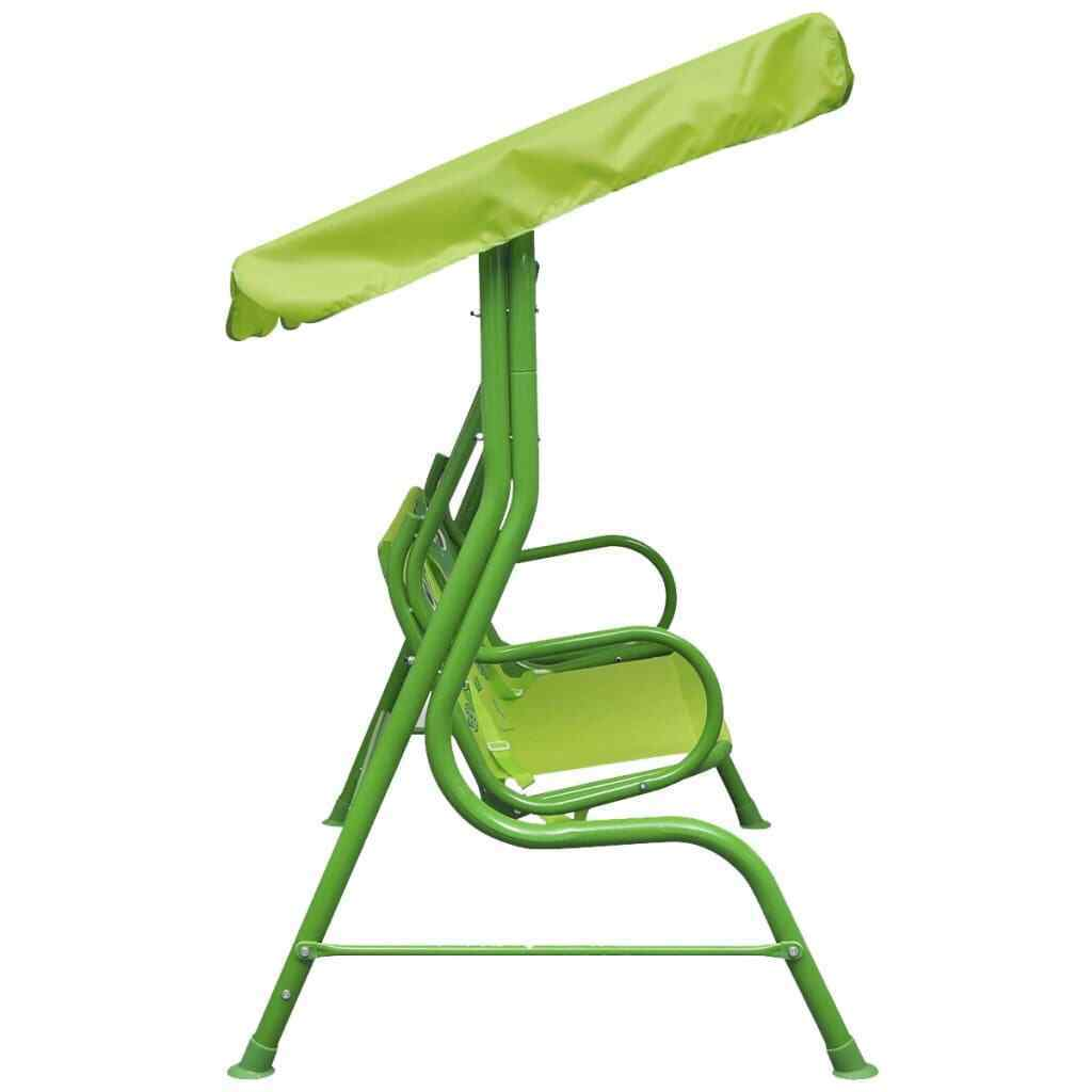 Kids Swing Seat Green & Red - JUST Hammocks