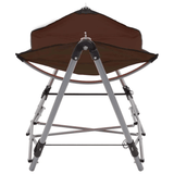 Hammock with Foldable Stand Brown - JUST Hammocks