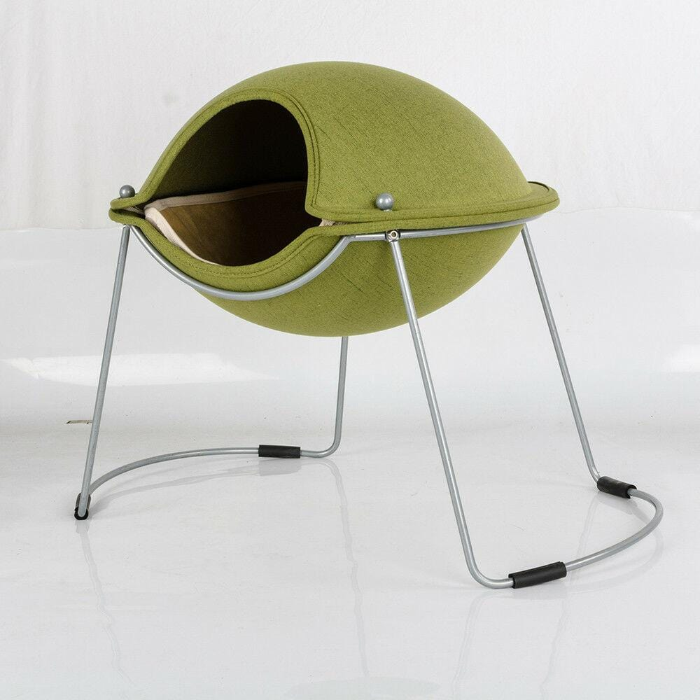 Luxury Elevated Cat Small Dog Pod Pet Bed - JUST Hammocks