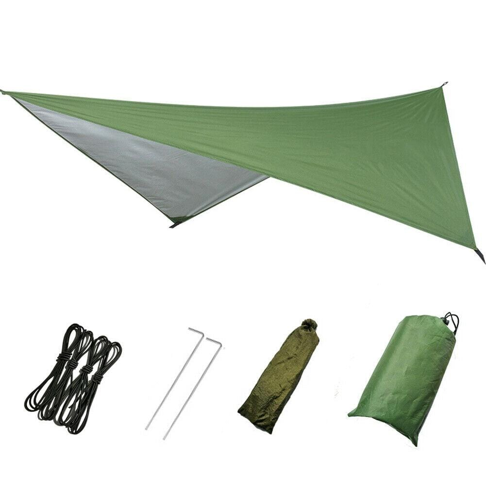 Large Lightweight Waterproof Camping Tent Tarp Shelter Hammock Rain Fly Cover - JUST Hammocks