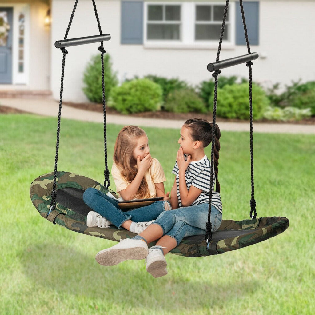 Kids Surf Tree Swing Giant Outdoor Flying Hammock Chair Children Yard Play Toy - JUST Hammocks