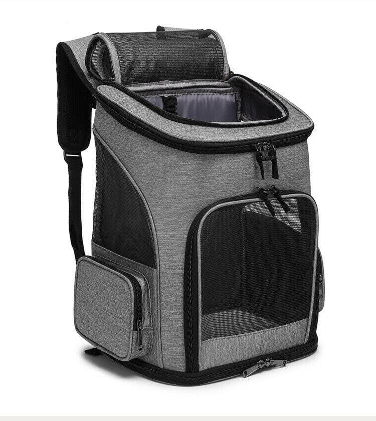 【Spacious】Cat or Dog Pet Carrier Backpack Travel Bag Front dogs Outdoor Bike - JUST Hammocks