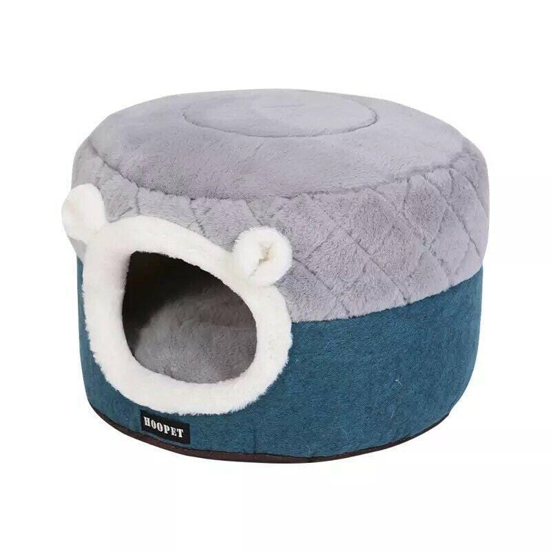 Pet Cat Basket Bed Cat House Warm Cave Kennel - JUST Hammocks