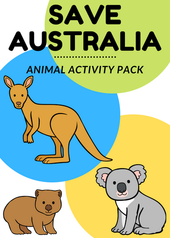 Australian Animal Activity Pack (100% Donation)