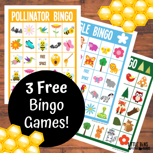 Bingo Games for Kids (3 FREE Games Pack)