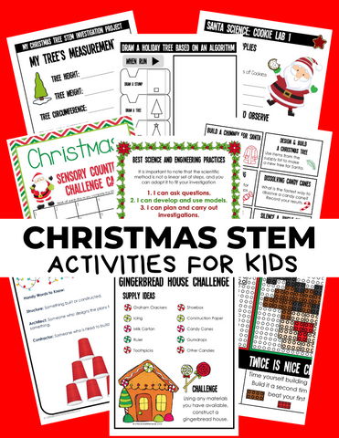 Christmas STEM Pack