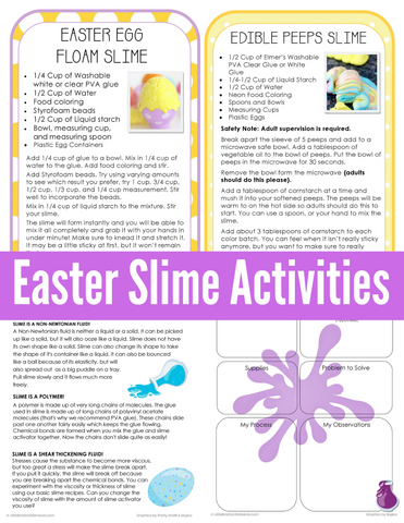 Easter Slime Pack